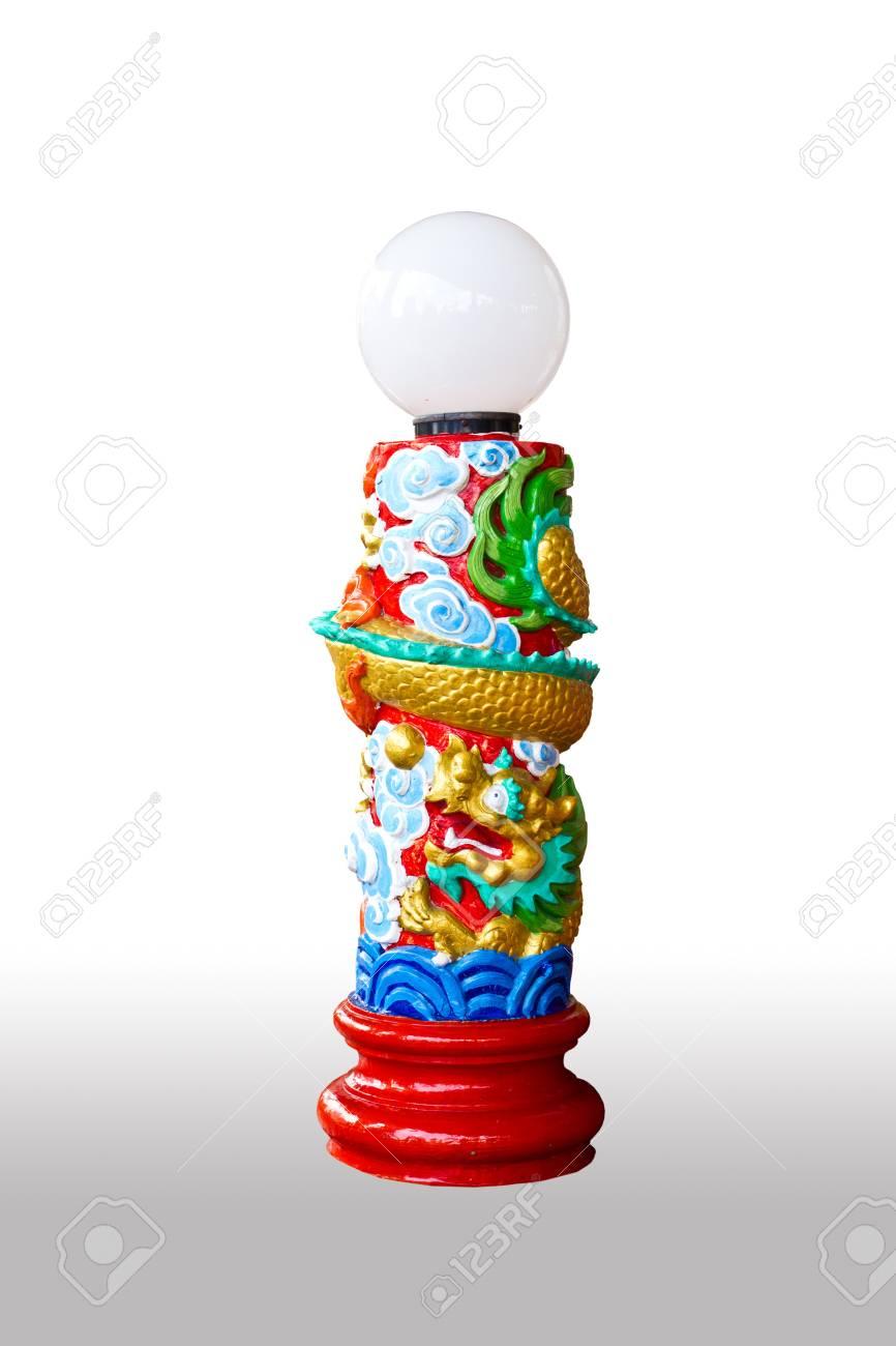 dragon lamp Stock Photo - 7949925