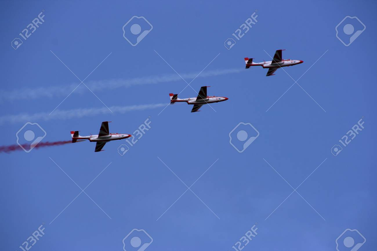 Training Military Jet Plane