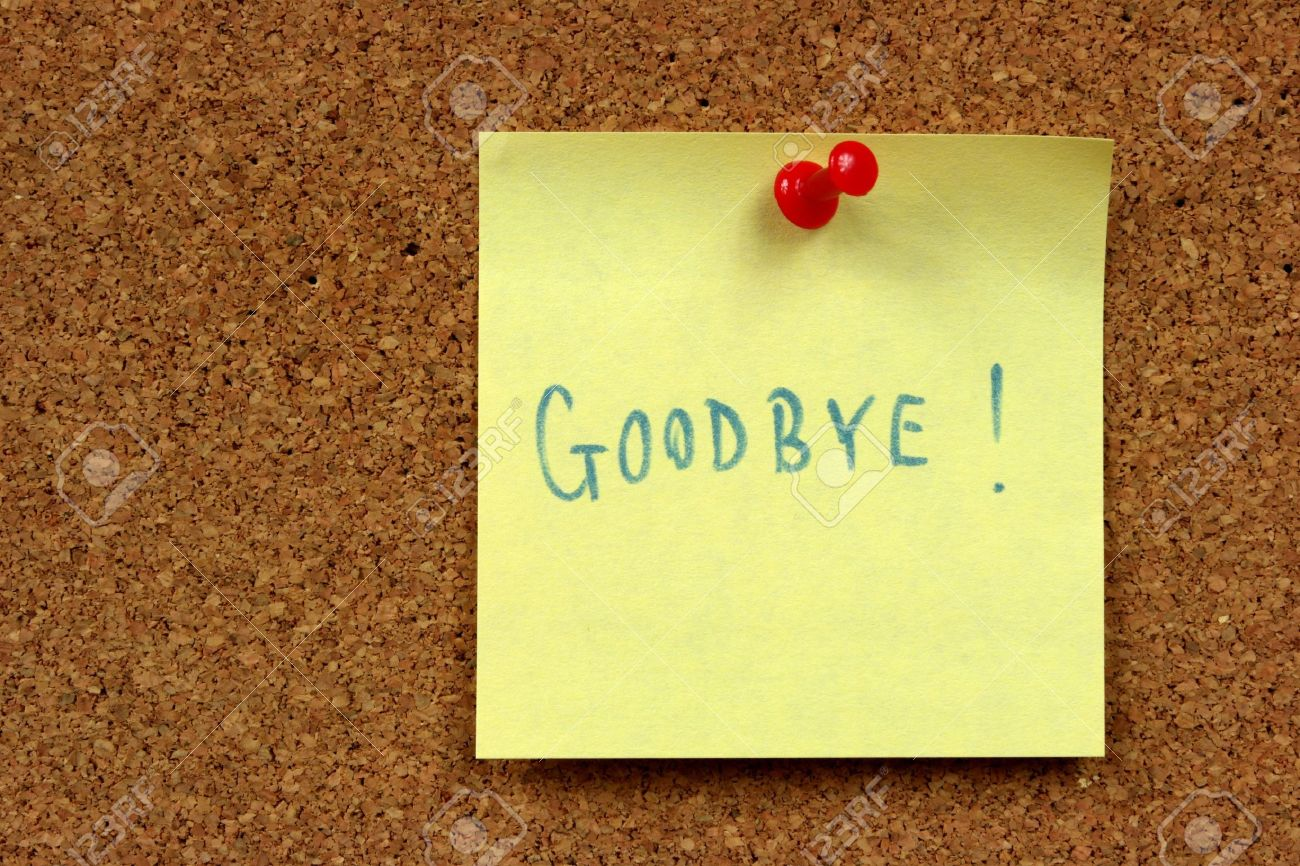 Doc425282 Goodbye Note Sample Goodbye Letter to Boss 80 – Goodbye Note