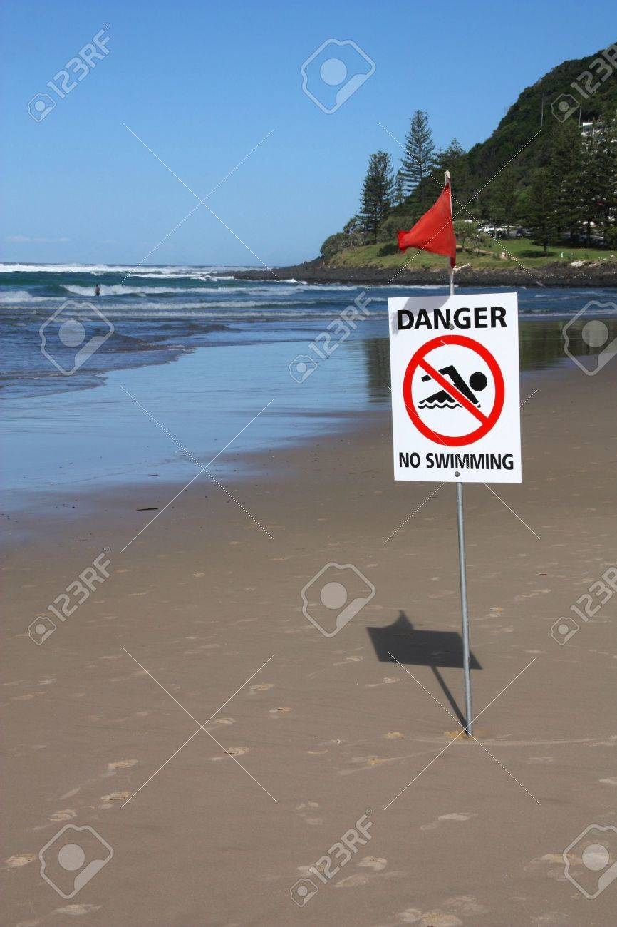 Beach Dangers Australia Beach in Australia Sandy