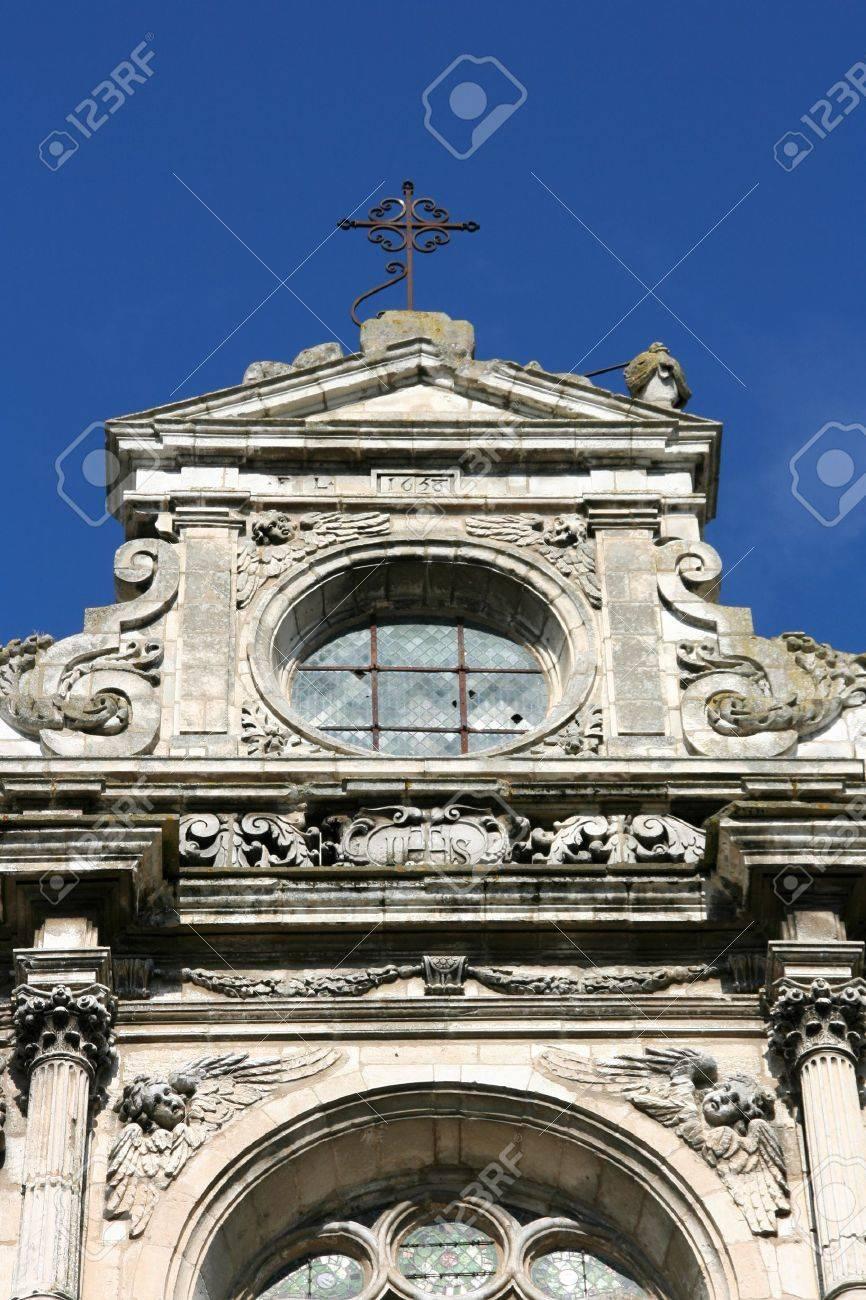 Pierre De L Yonne church of st. pierre en vallee in auxerre (yonne, burgundy),..