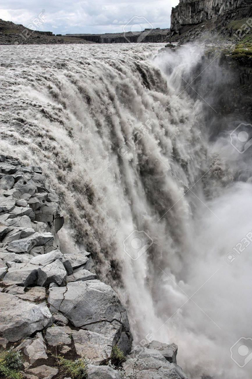 Dettifoss - Largest Waterfall In Europe In Terms Of Volume ... | title | waterfall terms