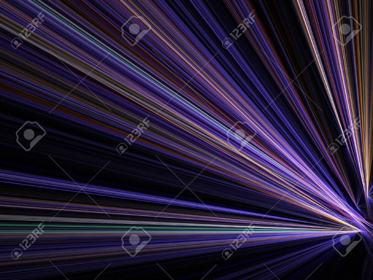 Graphics texture. Computer rendered background. 3D fractal. Night city street - speed motion blur abstract. Stock Photo - 9578584