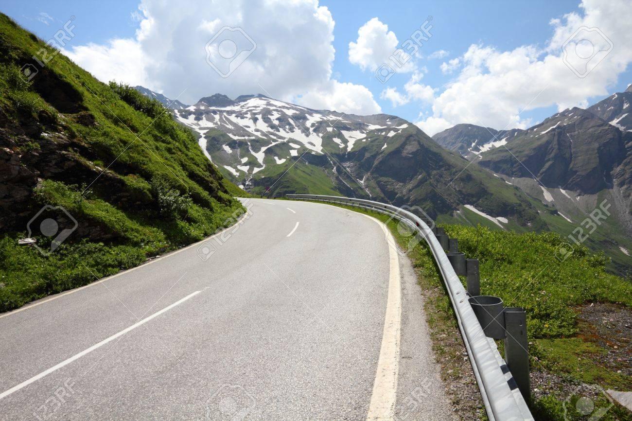 Alps in Austria. Hohe Tauern National Park. Hochalpenstrasse - famous mountain road. Stock Photo - 11207841