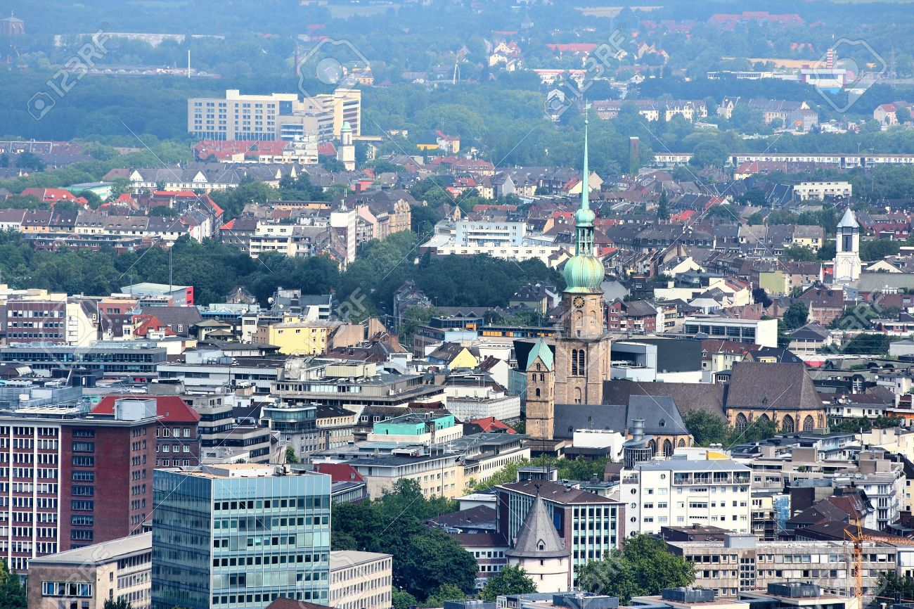 Dortmund City In Ruhrgebiet Ruhr Metropolitan Region In Germany Stock Photo Picture And Royalty Free Image Image 14505852