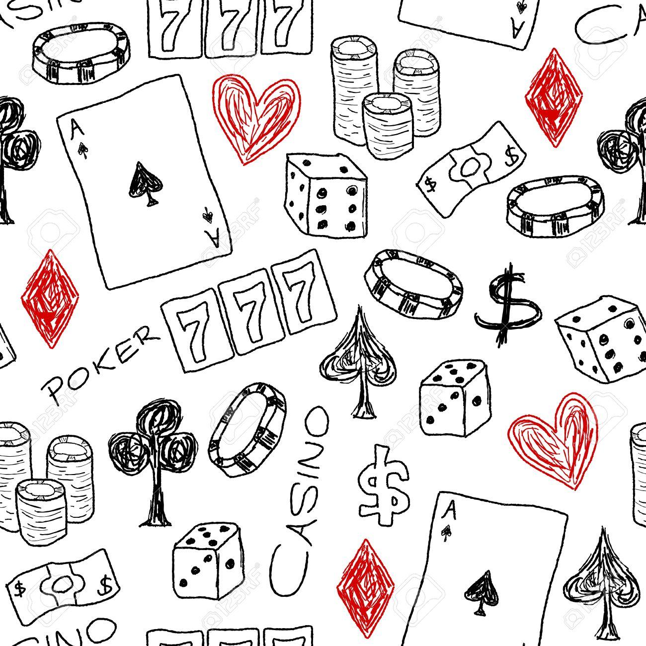 Gambling illustration mahol casino