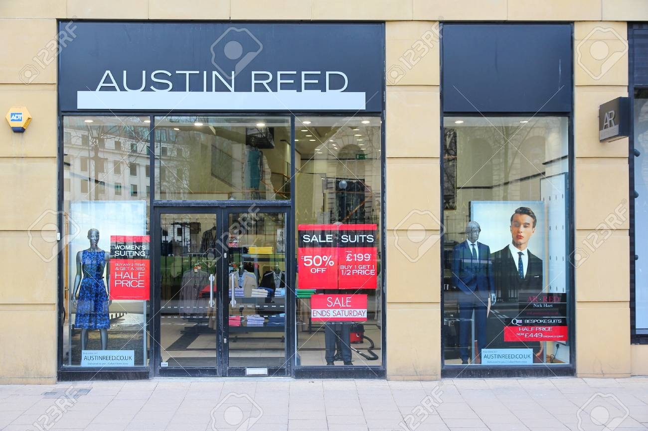 Birmingham Uk April 19 Austin Reed Boutique On April 19 Stock Photo Picture And Royalty Free Image Image 21348287