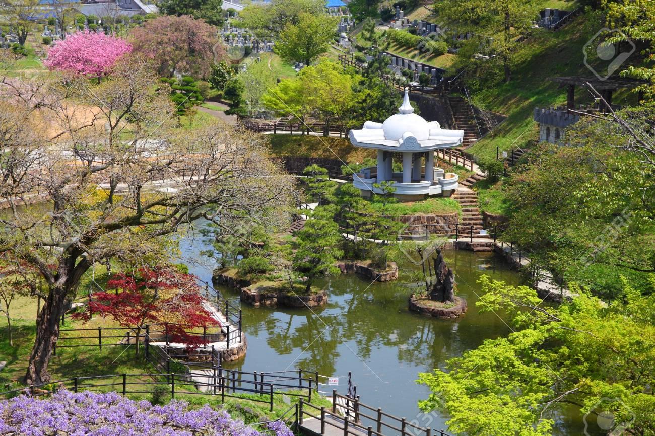 Himeji Au Japon Region Du Kansai Le Jardin Japonais De Nagoyama