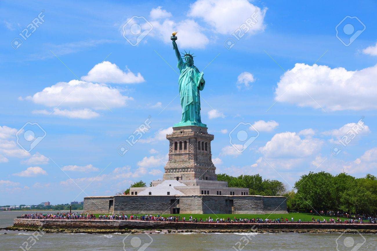 Statue of Liberty in New York City, United States. - 37495422