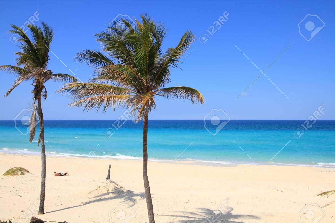 Kuba Karibischen Strand Playa Megano In Playas Del Este Provinz