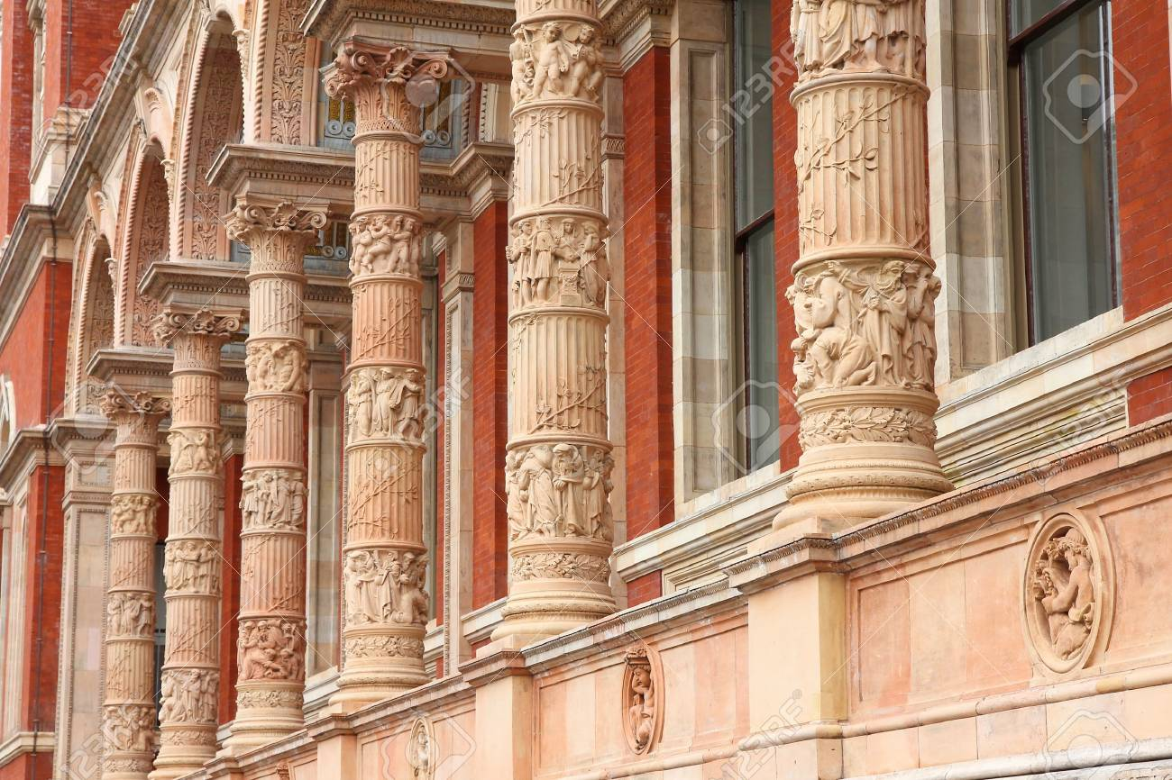 architectural exterior mouldings uk london uk architecture features of victoria and albert museum exterior ornaments stock photo architecture features of and