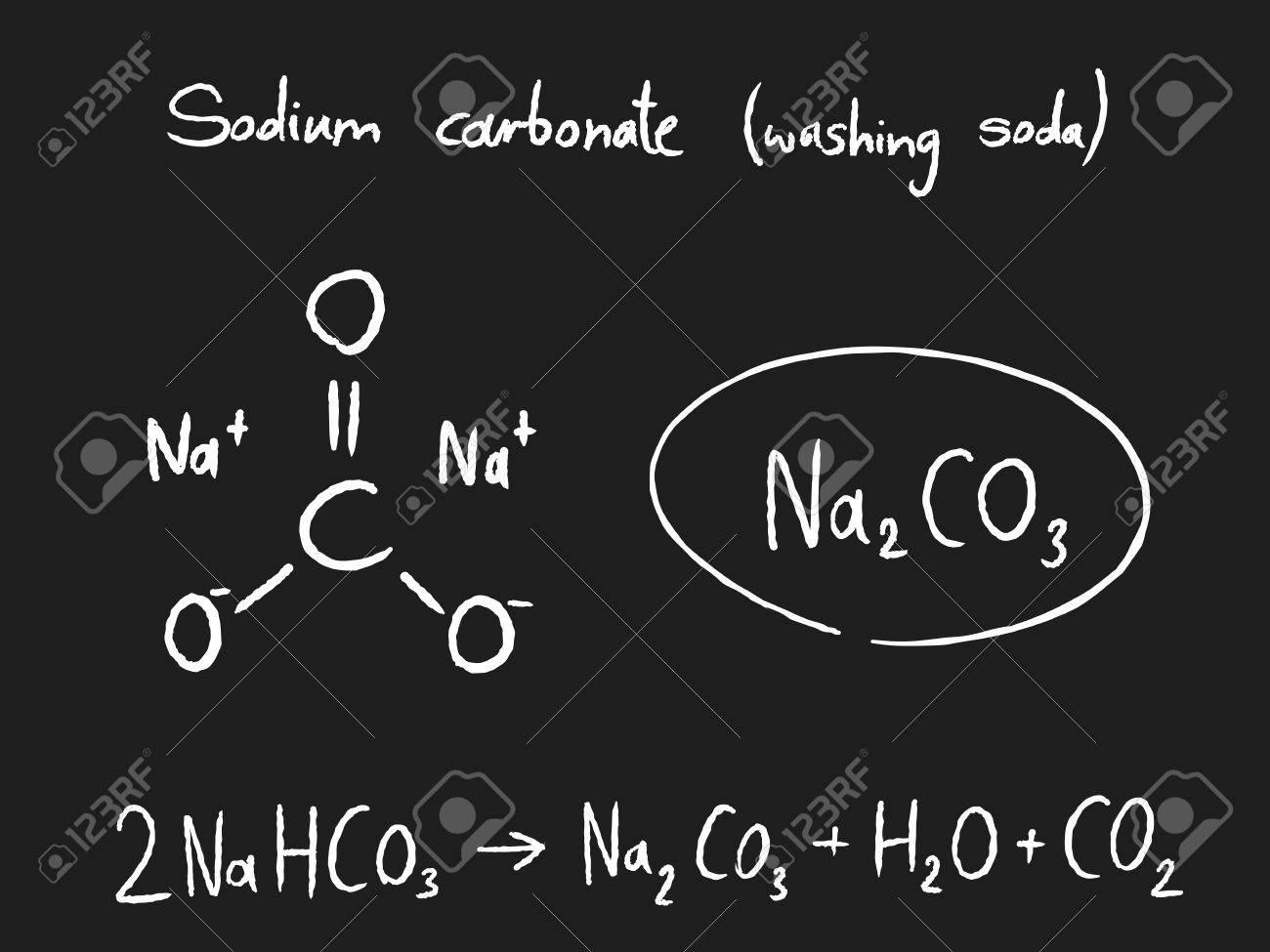 Sodium carbonate (washing soda) - chemistry lesson  Science education