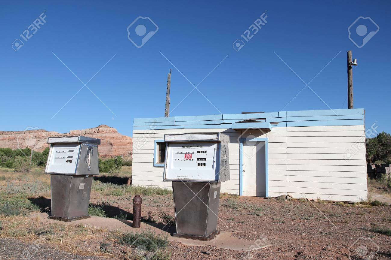 Abandoned Gas Station In Utah Usa Bankrupt Local Firm Stock Photo Picture And Royalty Free Image Image 93646663