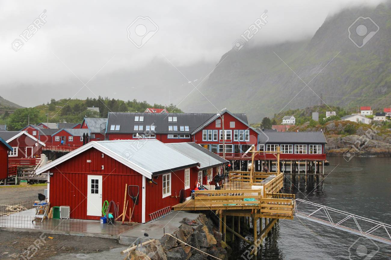 A, Norway - fishing village with a very short name (A) in Lofoten