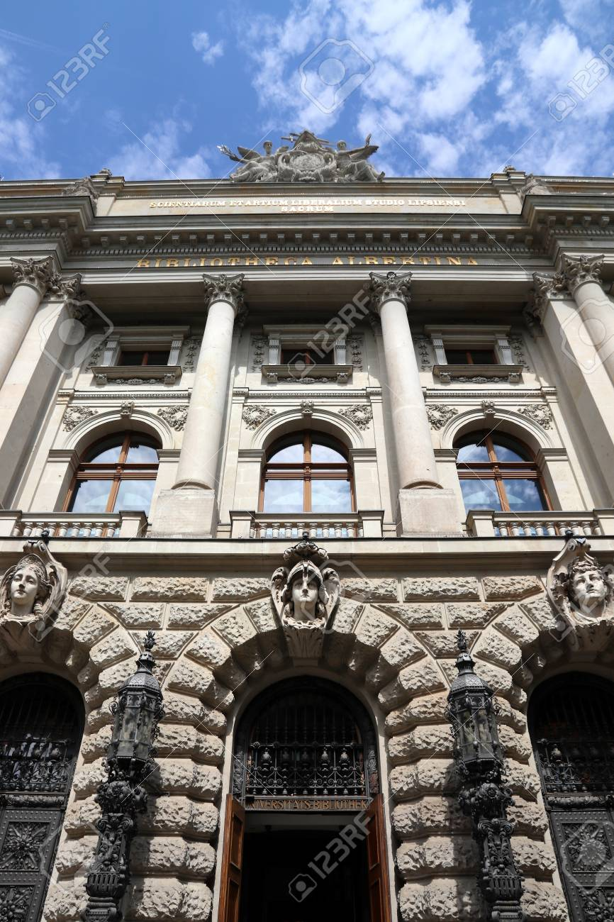Leipzig University Library Also Known As Bibliotheca Albertina Stock Photo Picture And Royalty Free Image Image 111714194