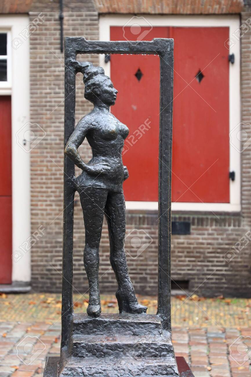 Prostitution in holland red light district
