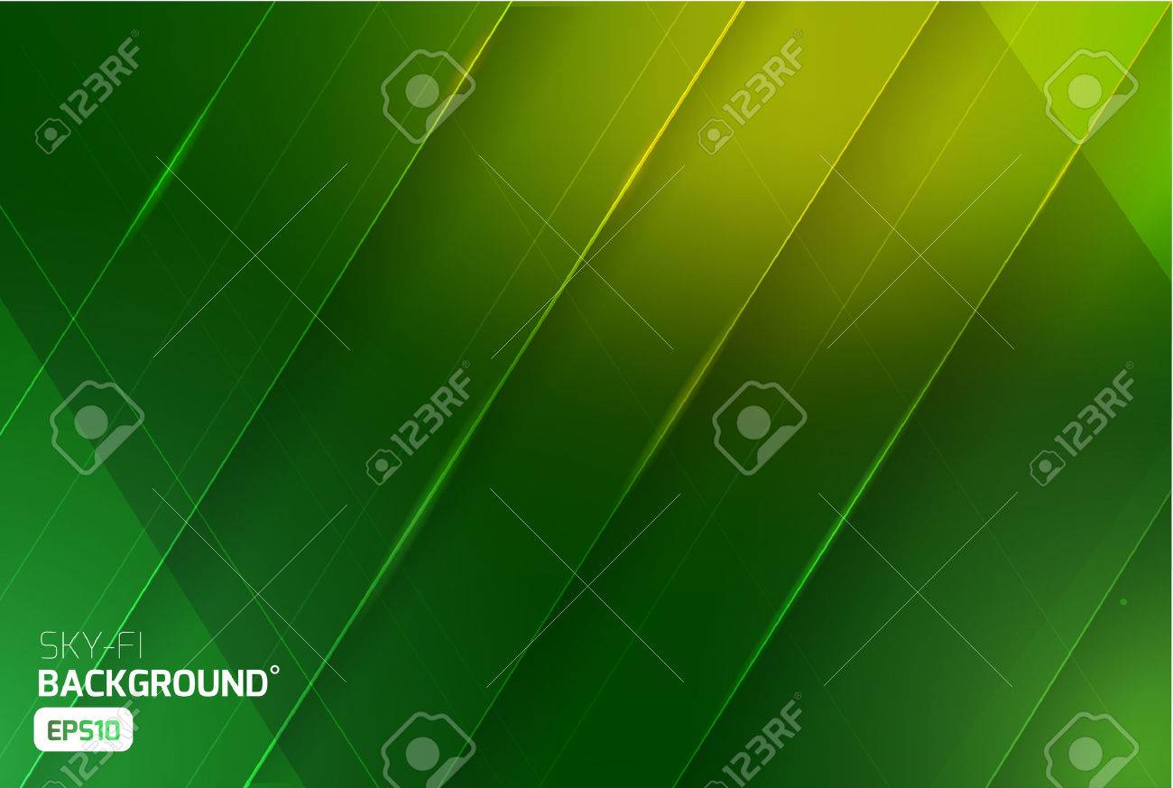 Sci-fi vector abstract background. Science nature ecologic. Print, video - 52439143