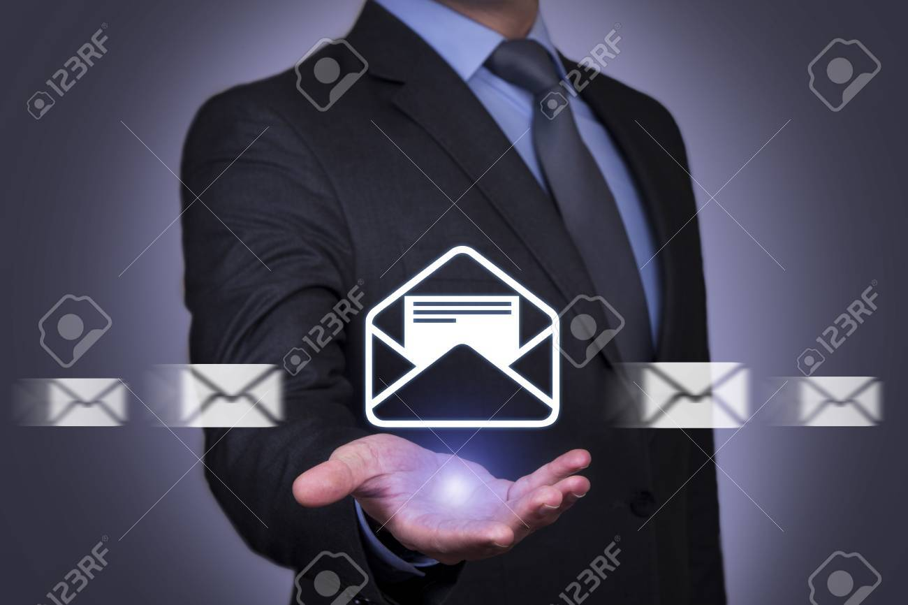 Email marketing, newsletter and bulk mail concepts