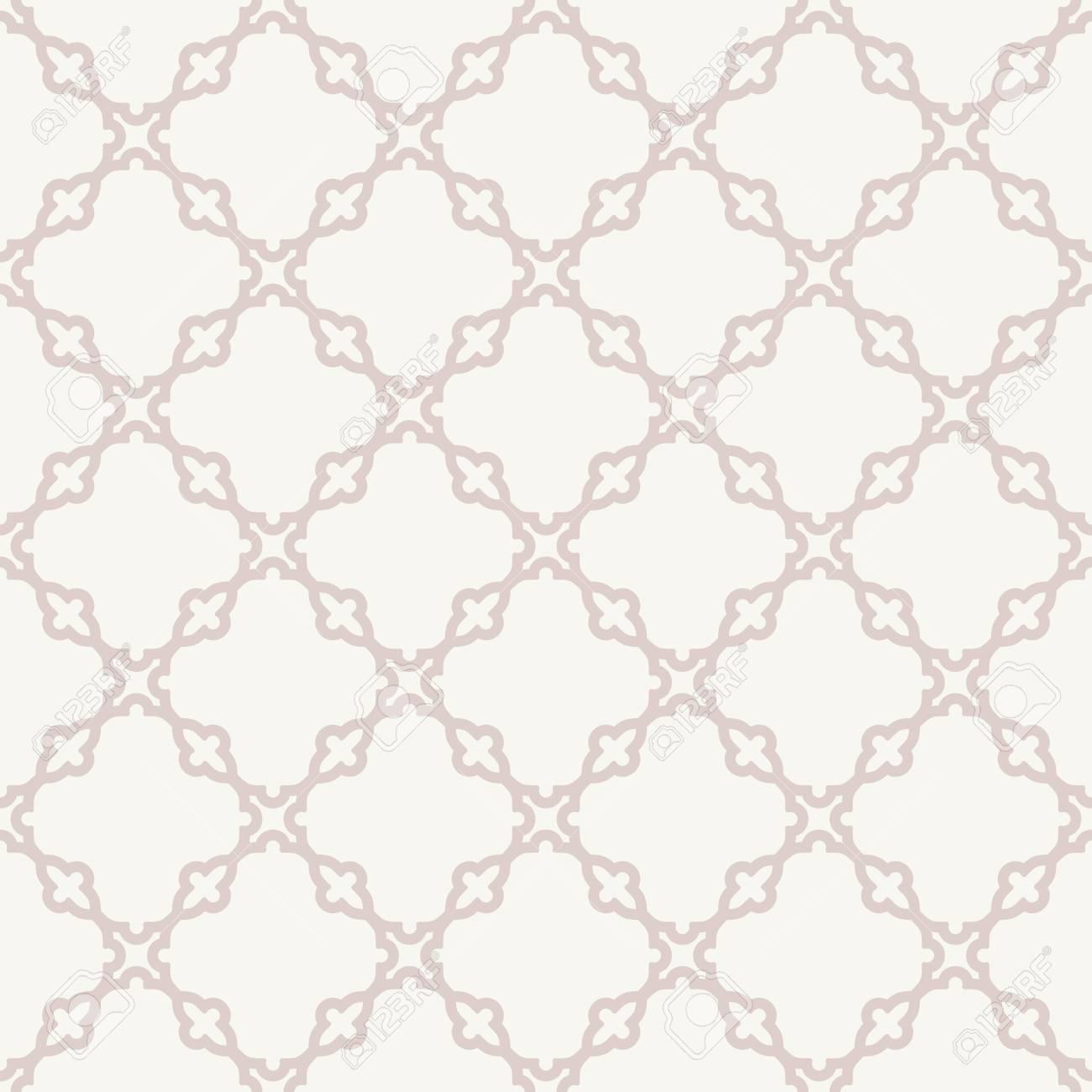 Motif Geometrique Seamless Vecteur Resume Grill Rose Pour Les