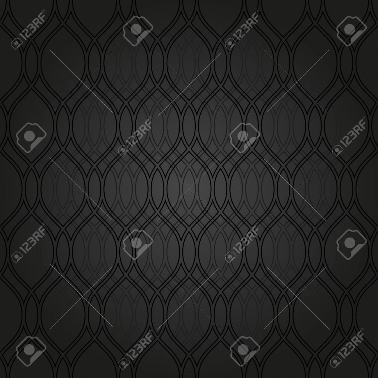 Motif Geometrique Noir Seamless Vecteur Abstract Texture Pour Les