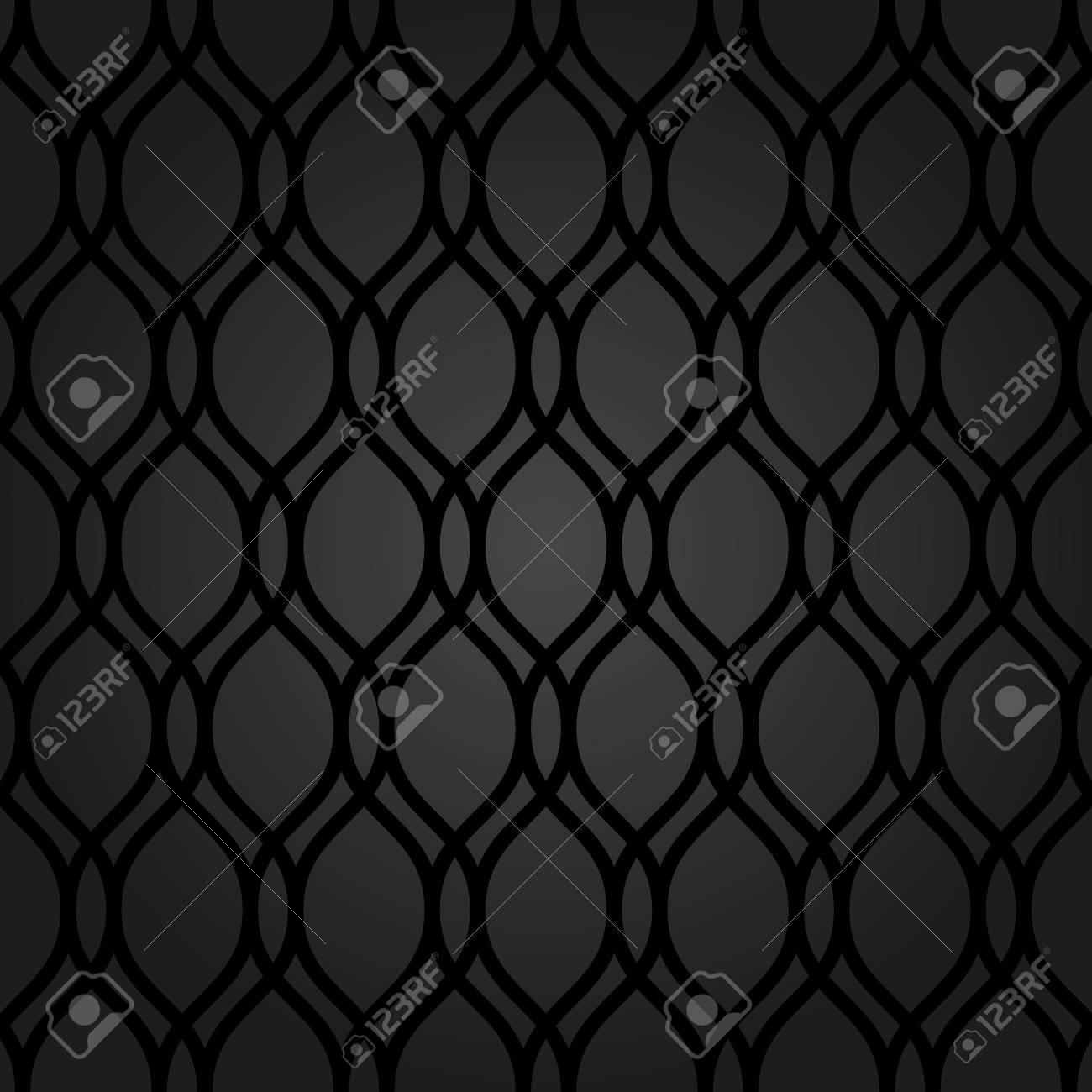 Seamless Dark Background Abstract Texture For Wallpapers Stock Photo