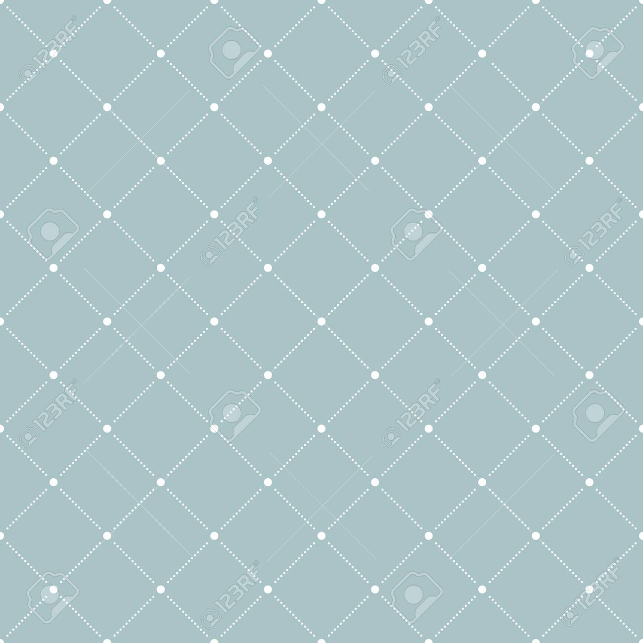 Geometric Fine Abstract Vector Pattern Seamless Modern Texture For Wallpapers And Backgrounds Blue
