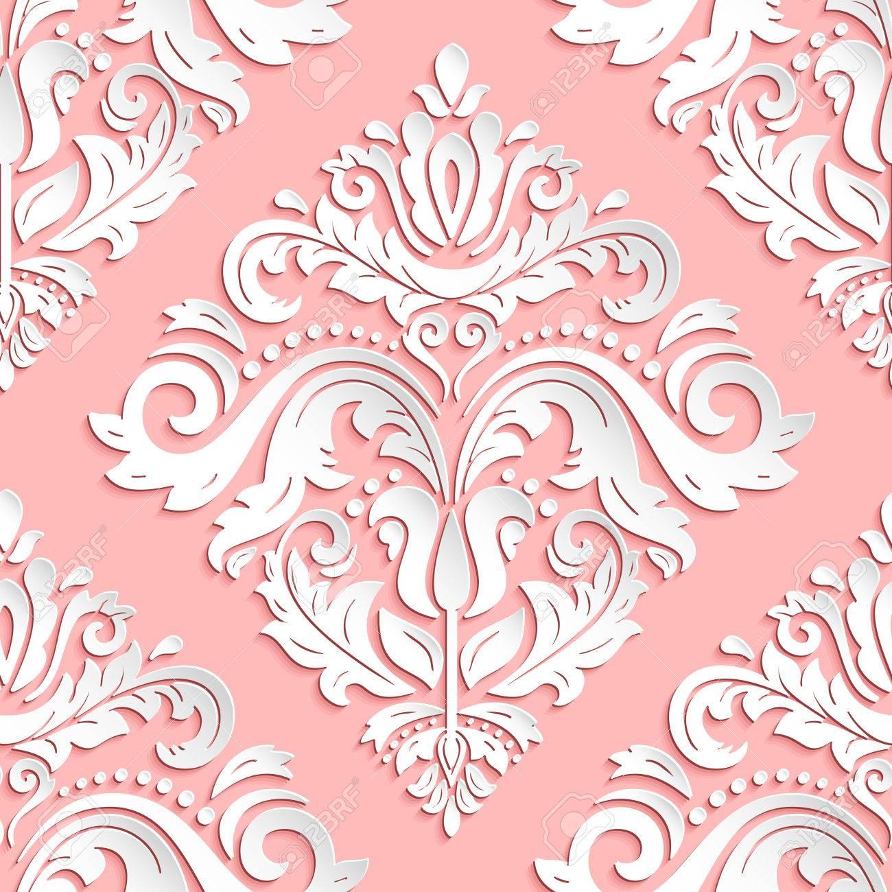Nahtloses Orientalisches Muster Orientalische