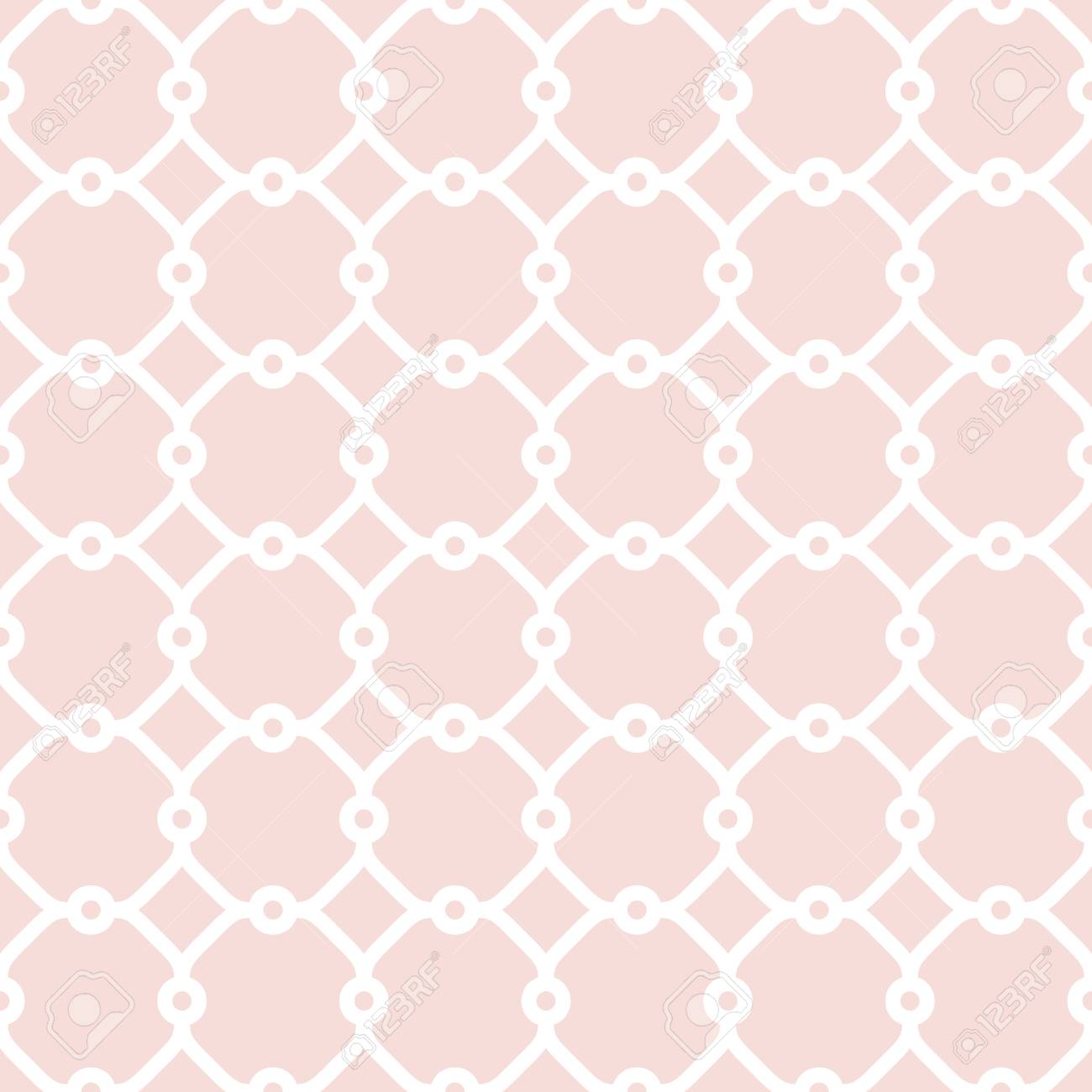 feine geometrische rosa und wei muster mit orientalischen elementen nahtlose grill fr tapeten und - Tapete Orientalisches Muster