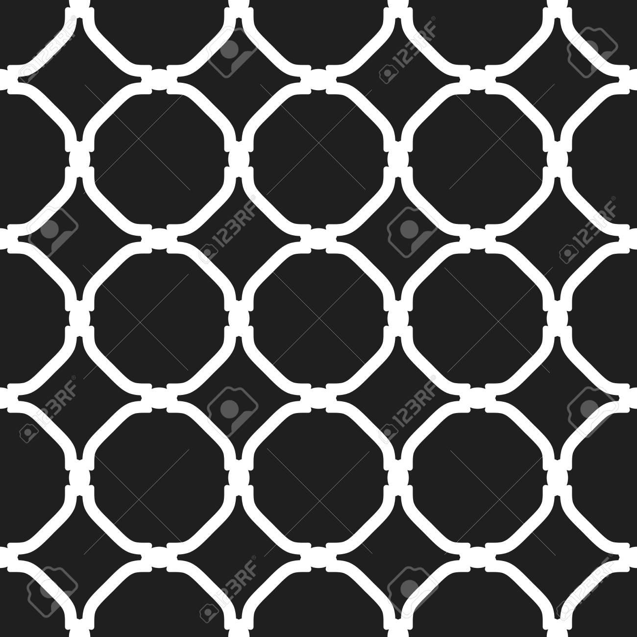 東洋の要素を持つ細かい幾何学模様 壁紙や背景のシームレスなグリル
