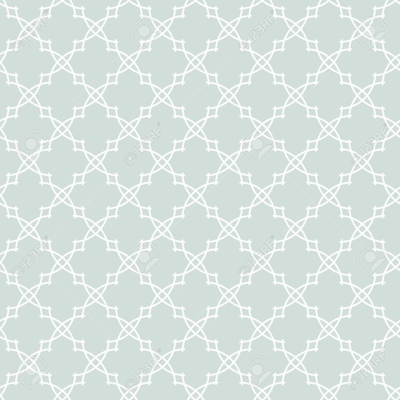 Seamless Vector Ornament In Arabian Style Light Blue And White Pattern For Wallpapers Backgrounds