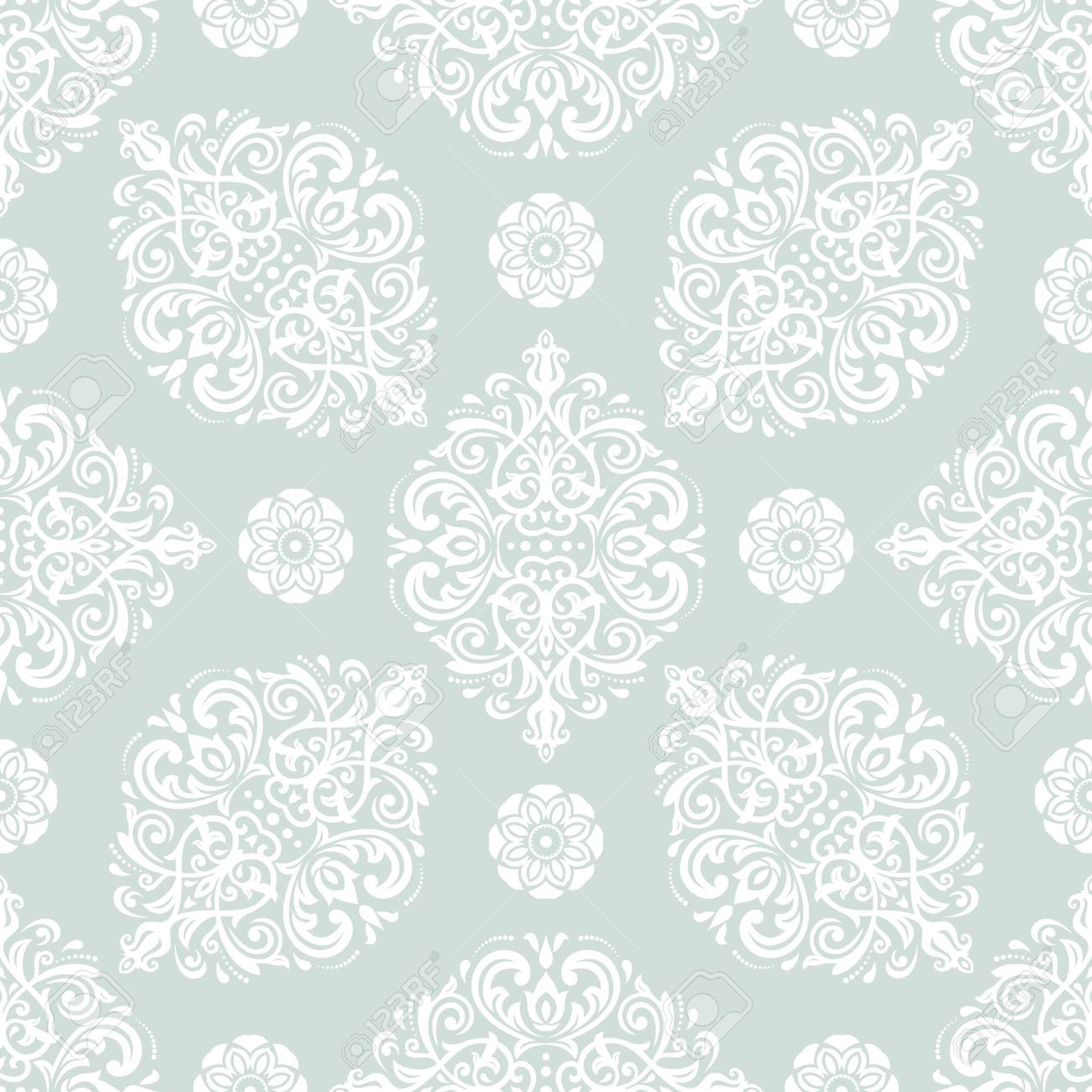Favorit Orientalisches Klassisches Muster . Nahtloser Abstrakter VS69
