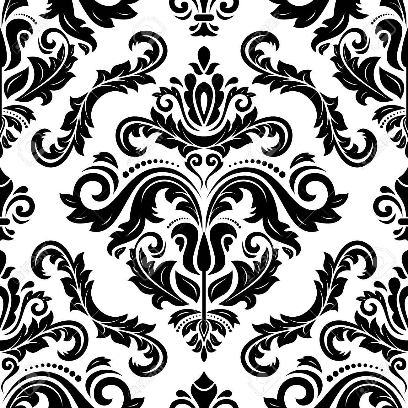 Vlies Tapete Barock Muster Ornament Glitzer 14