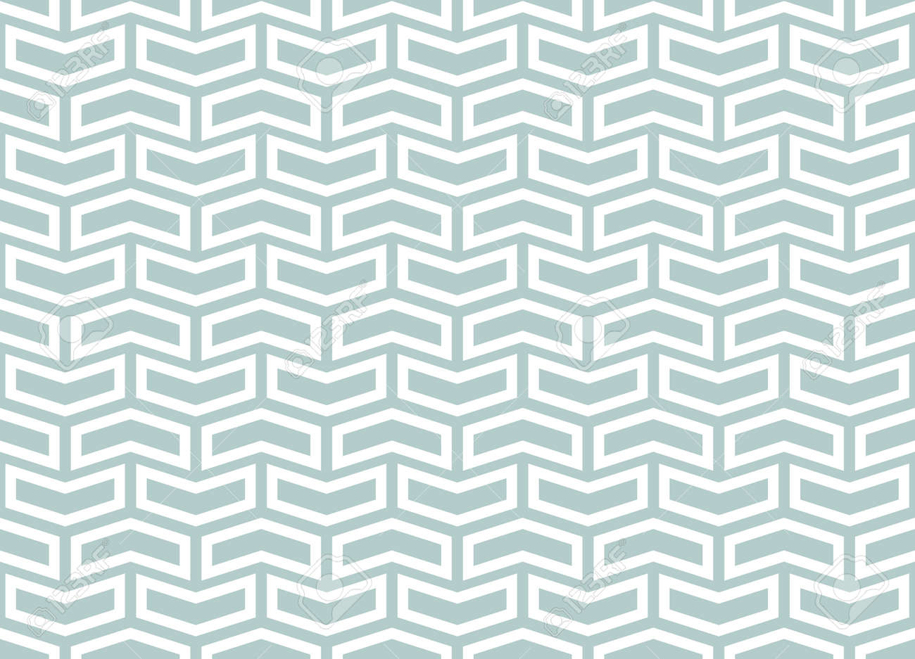 Geometric vector pattern with light blue and white . Geometric modern ornament. Seamless abstract background - 169499801