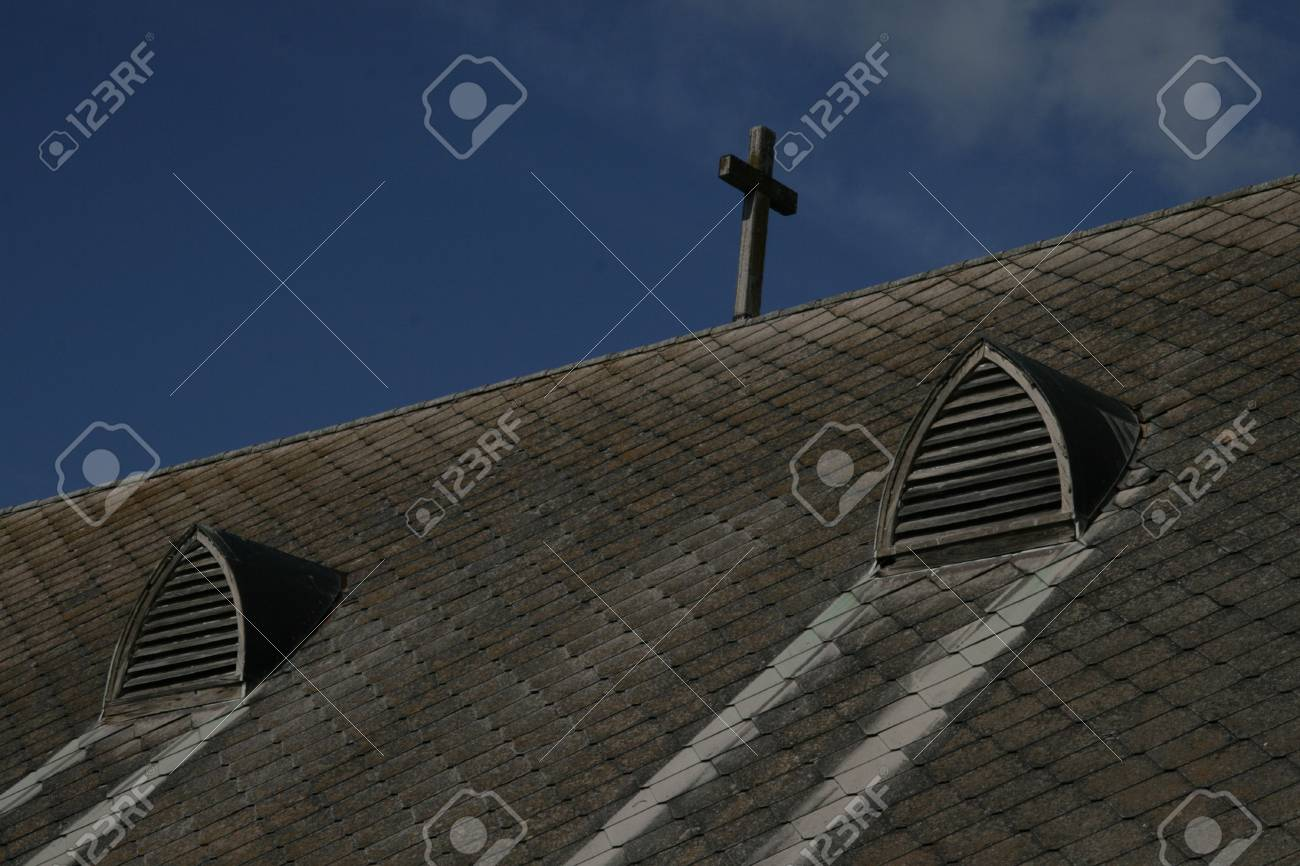 Church Cross against the Sky Stock Photo - 404066