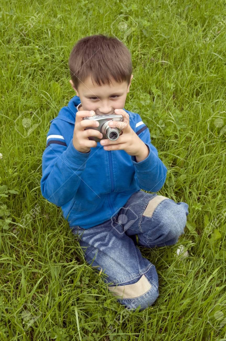 Little photographer Stock Photo - 5435659