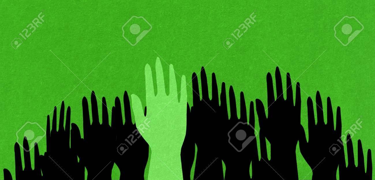 green hand - 22268337