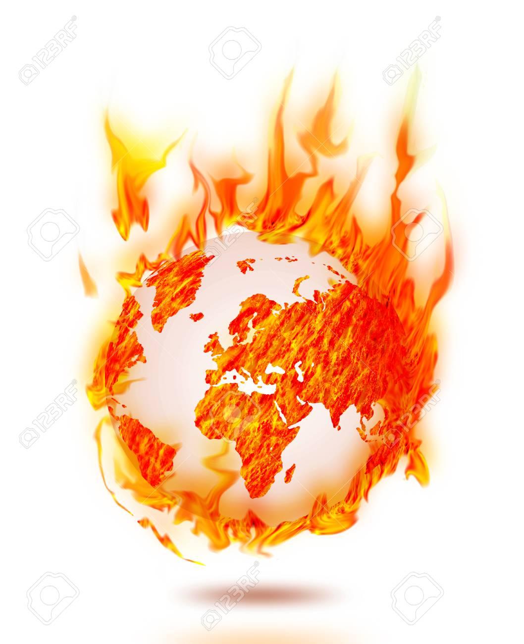 world earth burning - 22584981