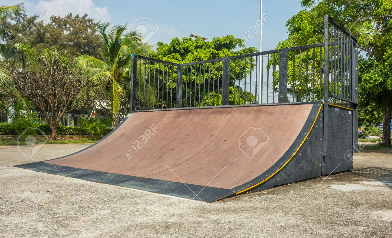 Skate Board Ramp >> Skate Board Ramp Stock Photo Picture And Royalty Free Image Image