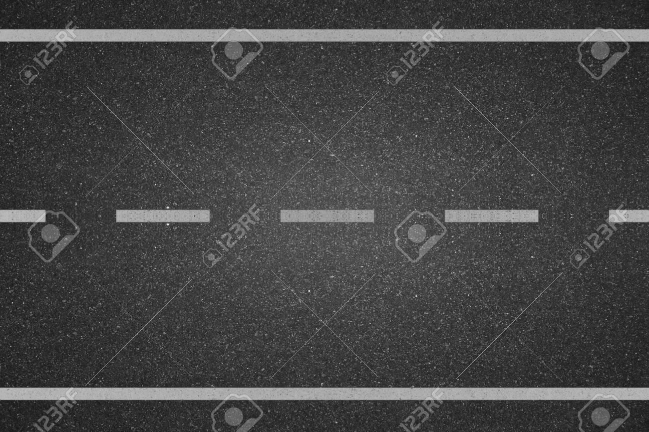 White lines on asphalt road - 28763241