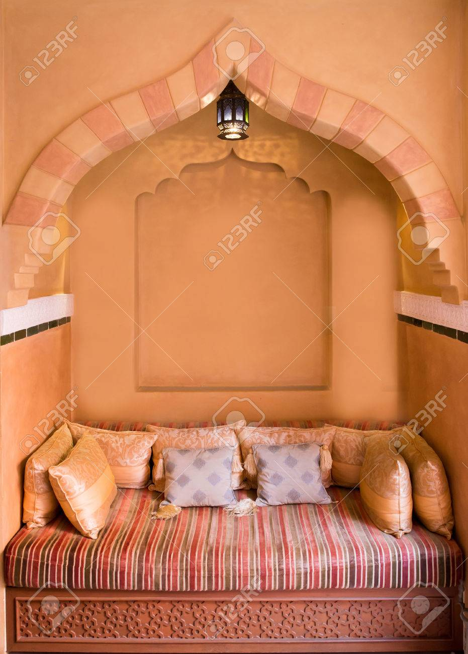 Moroccan Living Room Moroccan Living Room Interior Design Stock Photo Picture And