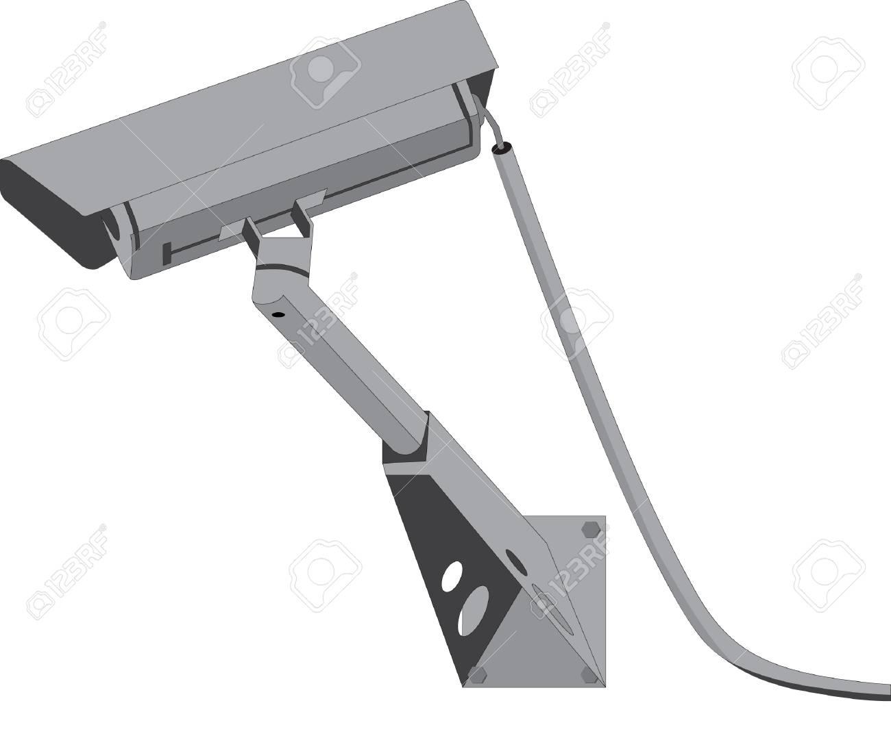 Security camera Stock Vector - 4805576
