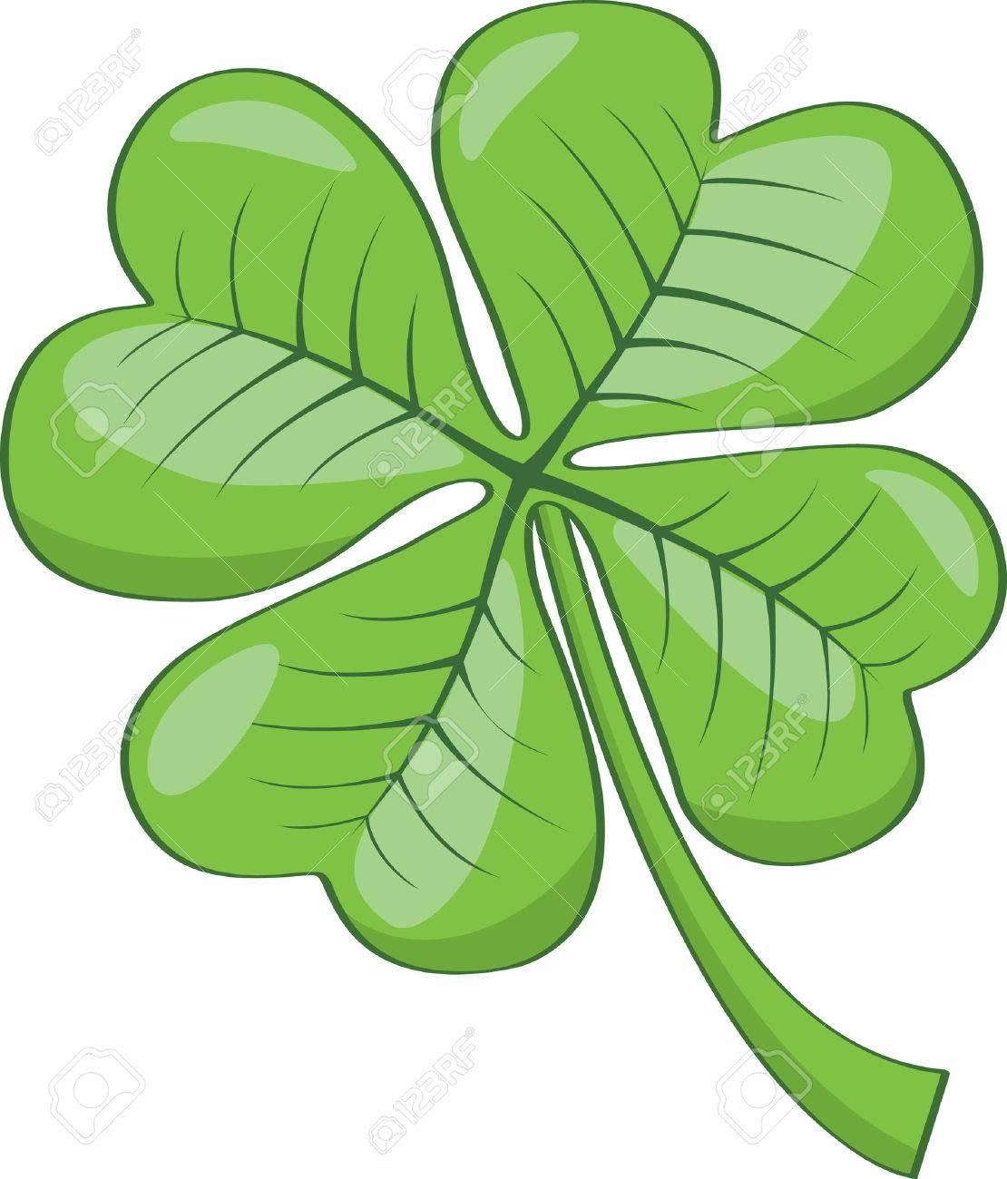 Four leaf clover Stock Vector - 4824693