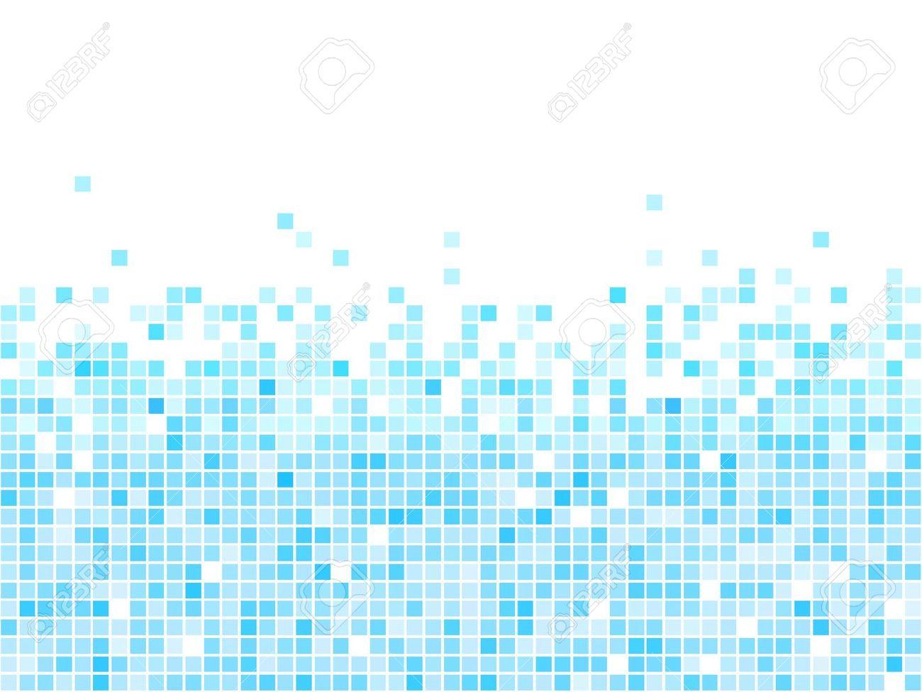 resumen de vectores de fondo mosaico azul con copia espacio blanco foto de archivo