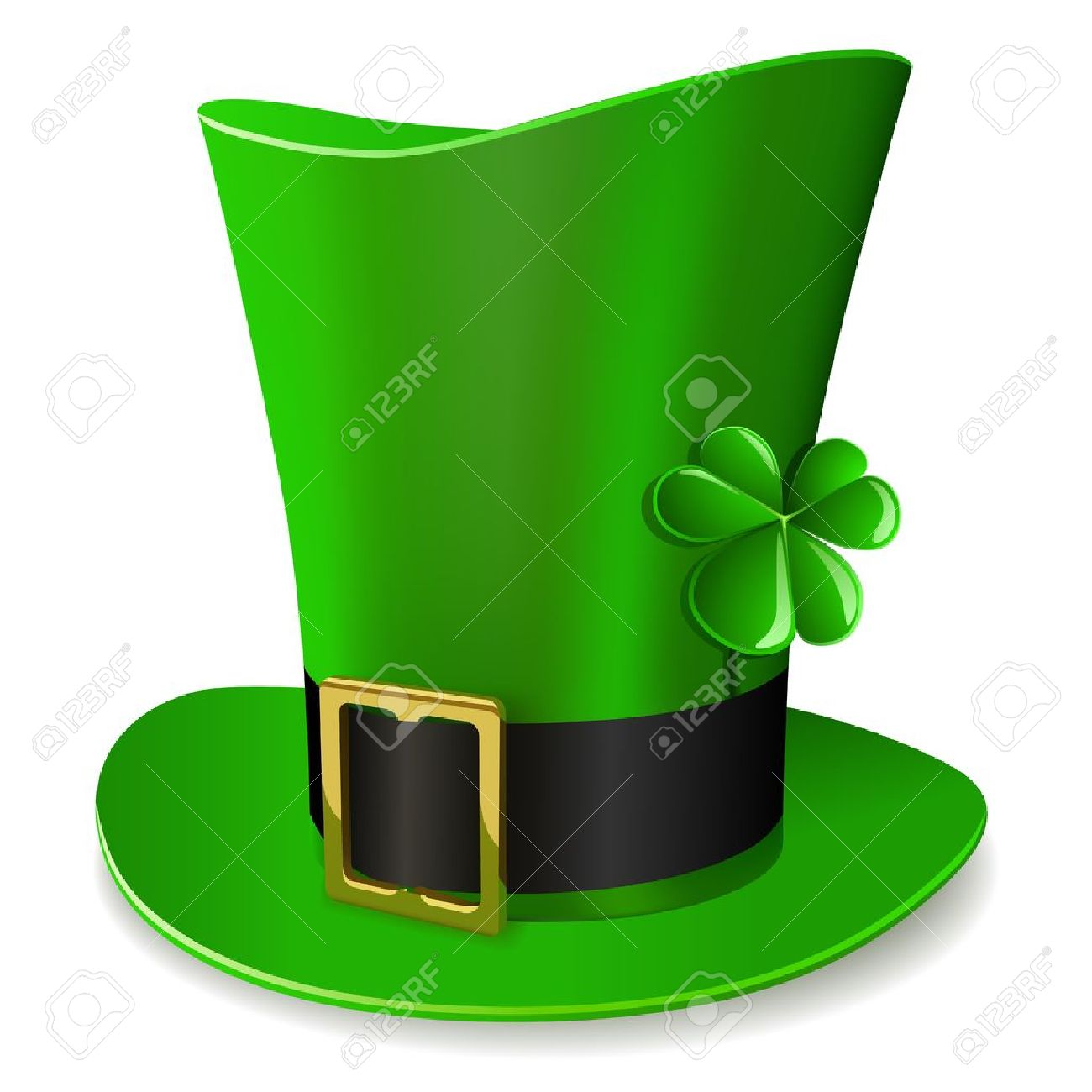 leprechaun hat st patricks day symbol royalty free cliparts