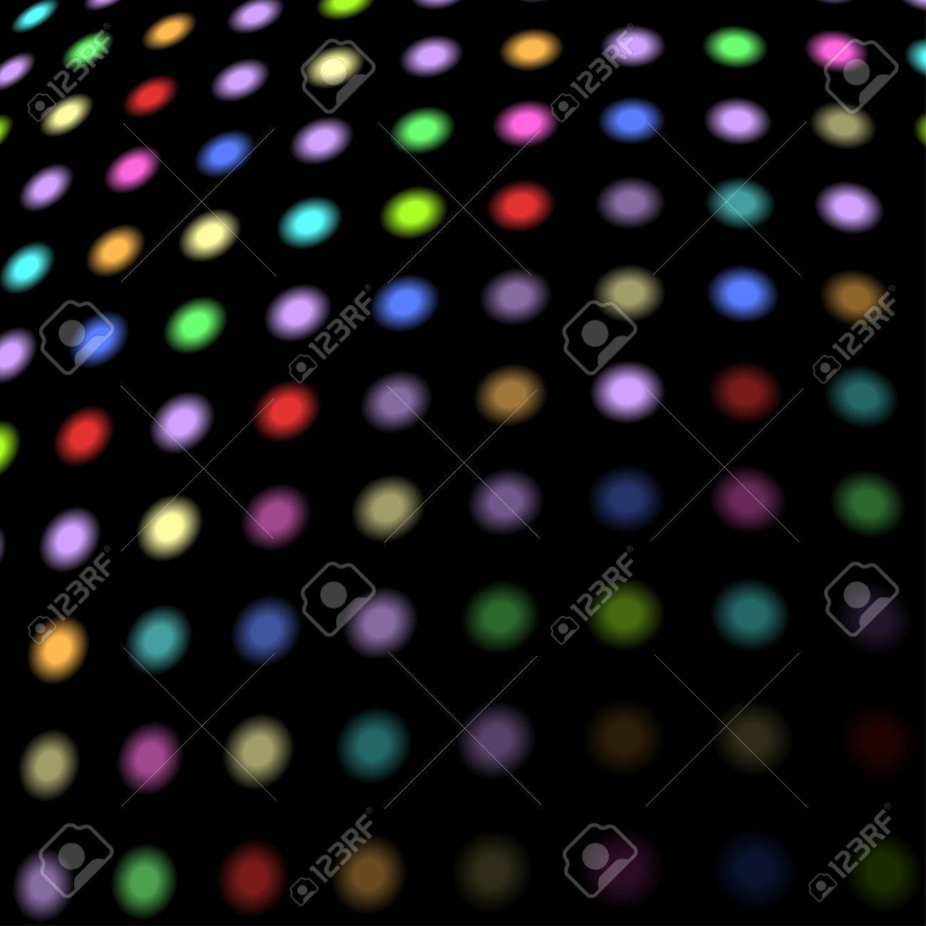 Colorful disco lights background with copy space. Stock Vector - 15900925