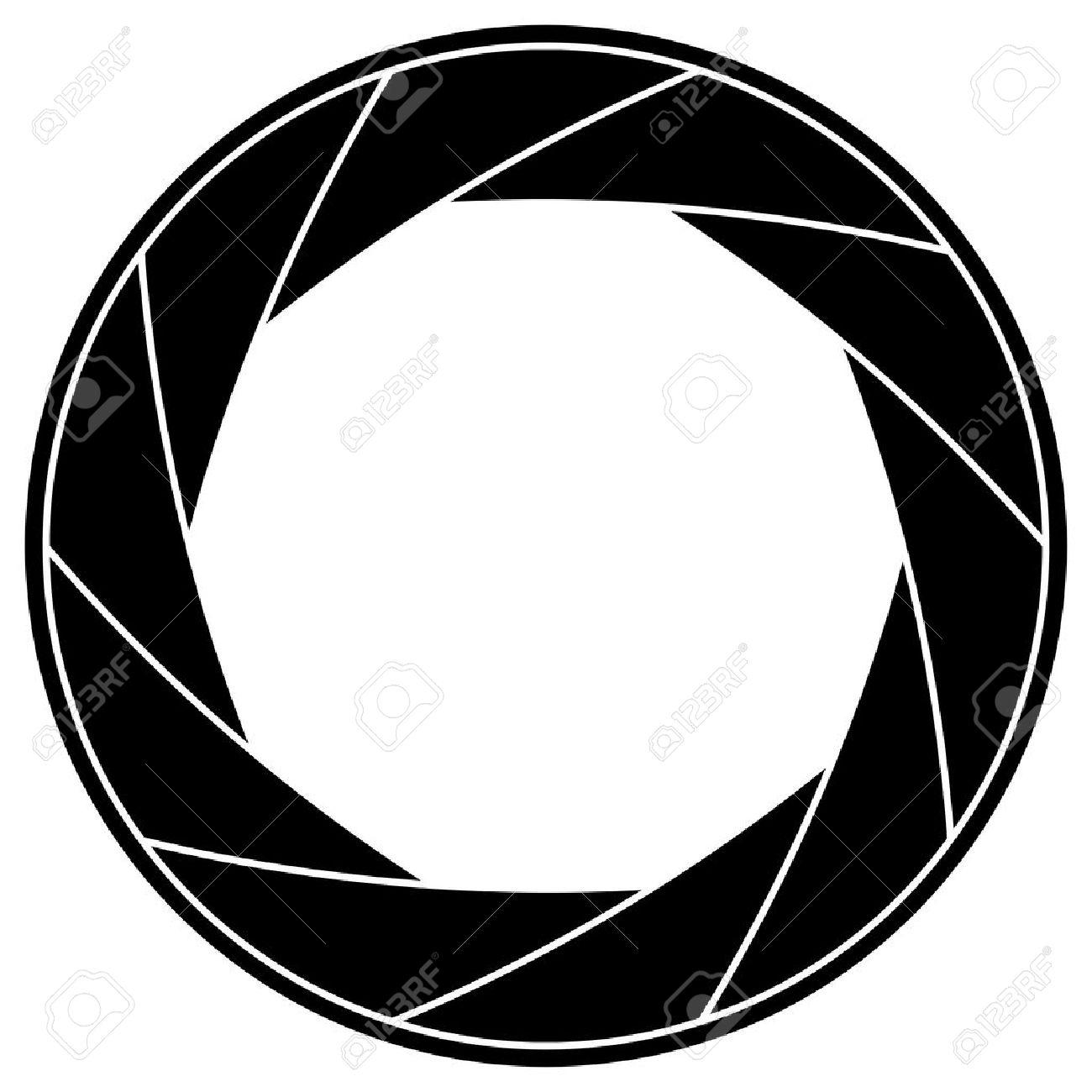 Black and white illustration of shutter frame Stock Vector - 15900977