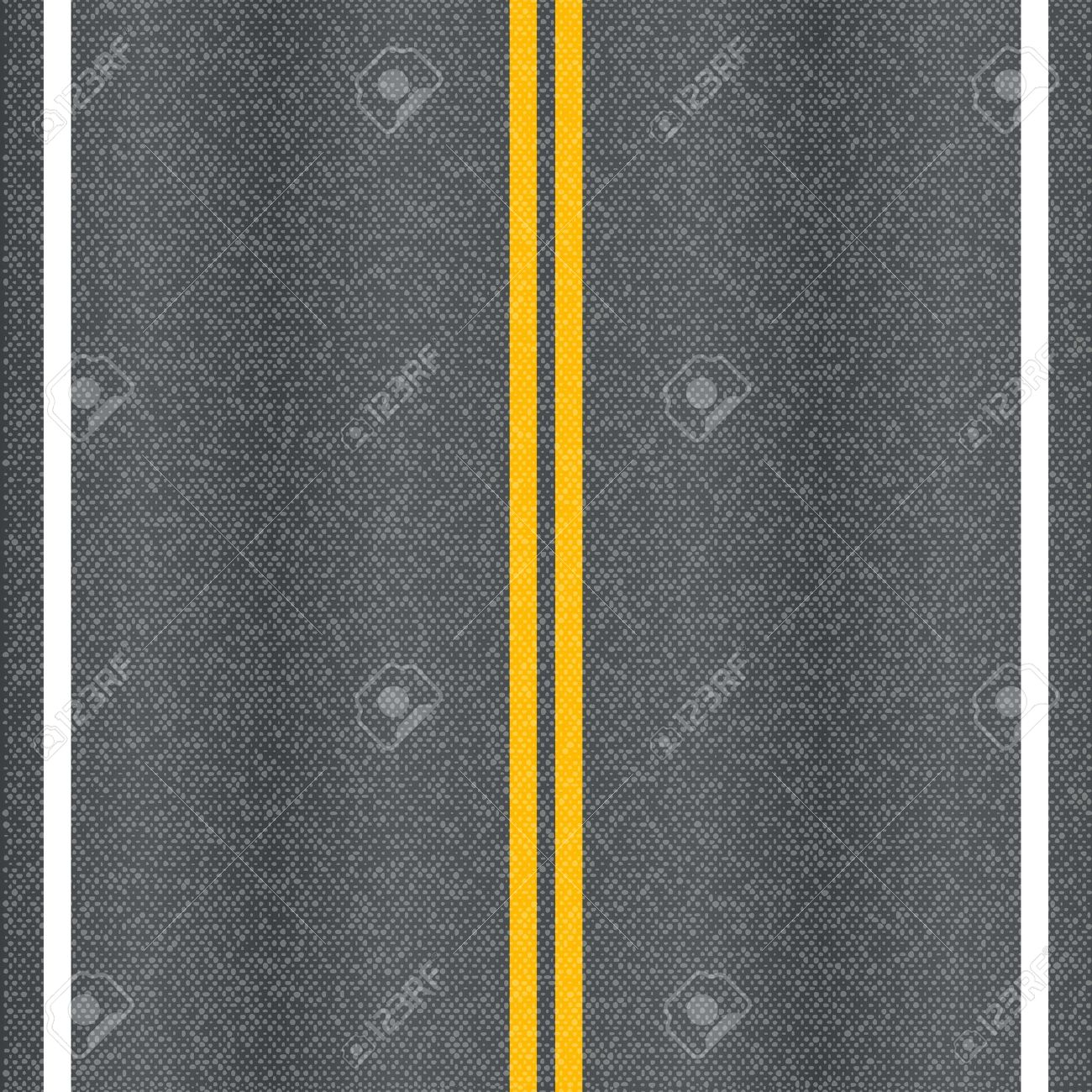 Asphalt road texture with marking lines - 18088973