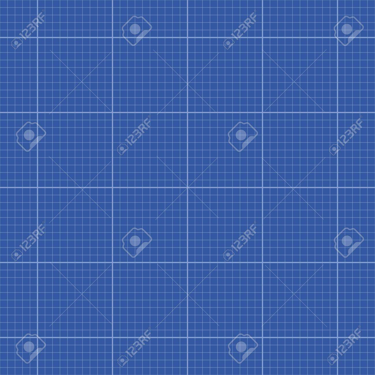 Seamless blank lined blueprint template royalty free cliparts seamless blank lined blueprint template stock vector 20462226 malvernweather Image collections