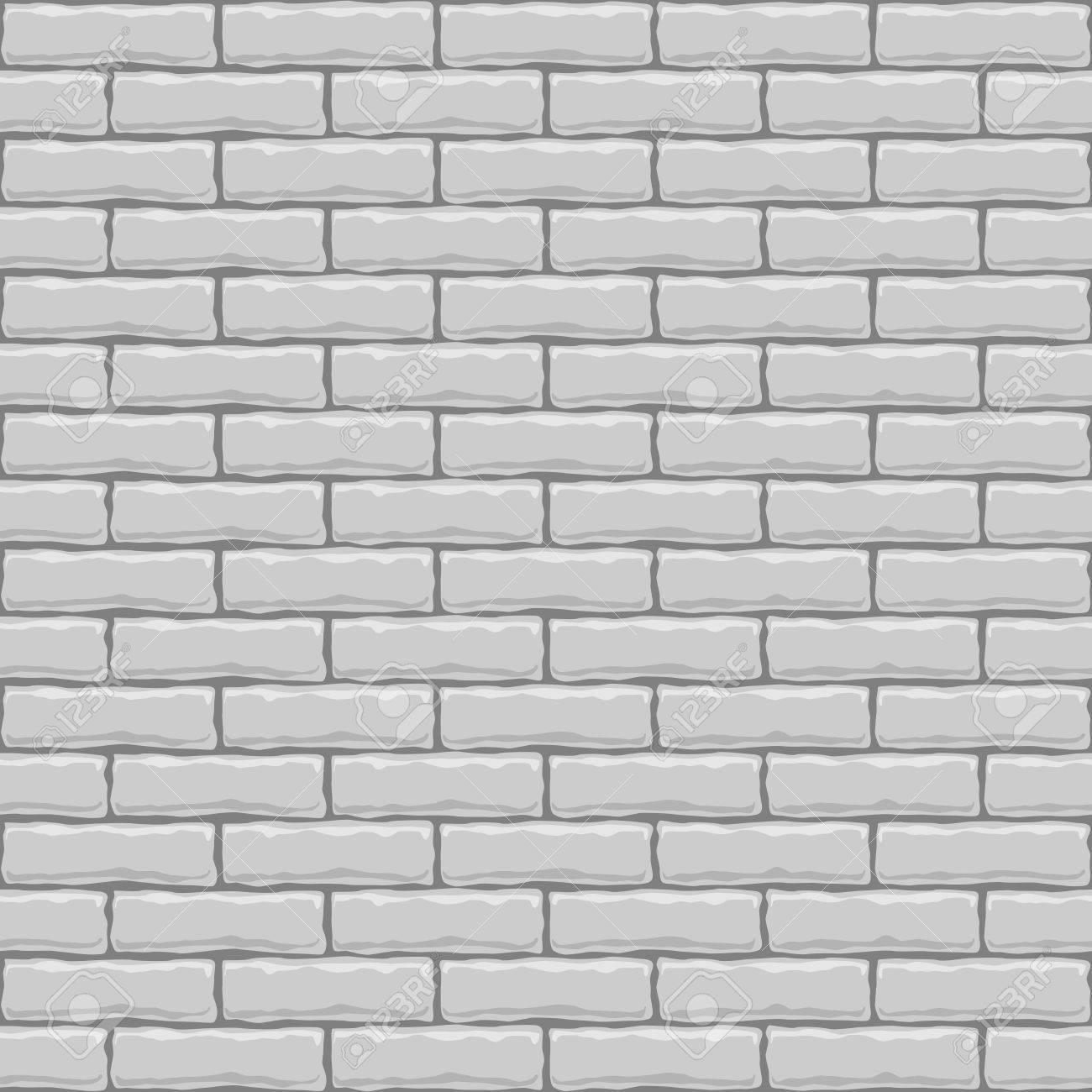 Dachziegel textur grau  Nahtlose Vektor-weiße Ziegel Textur Quadrat. Lizenzfrei Nutzbare ...