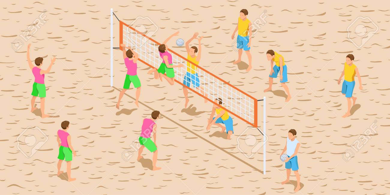 Silhouettes Of Women Playing Beach Volleyball Royalty Free Cliparts,  Vectors, And Stock Illustration. Image 11429657.